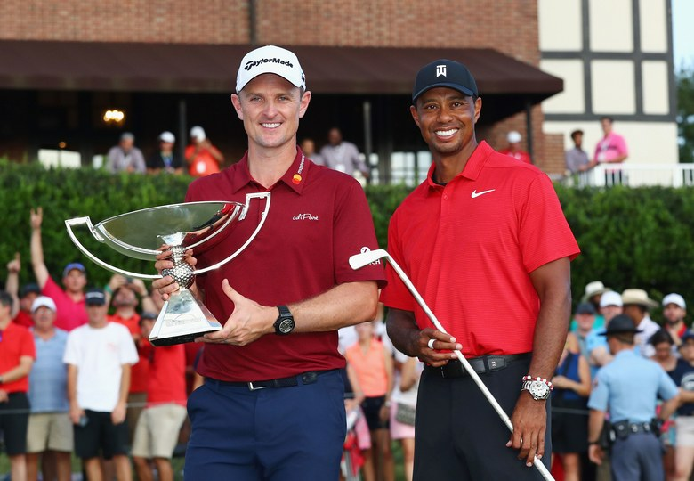 2019 Fedex Cup Winners - Justin Rose and Tiger Woods
